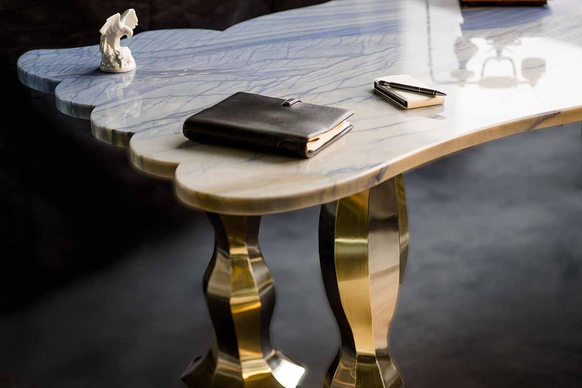Quarziana-Ocean Schreibtisch